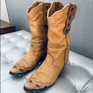 Zodiac USA Vintage Western Boots w/ Steel Hardware